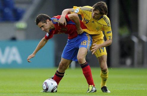 Предсказуемо легкая победа испанцев. Украина едет домой