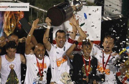 Сантос — победитель Копа Либертадорес + ВИДЕО