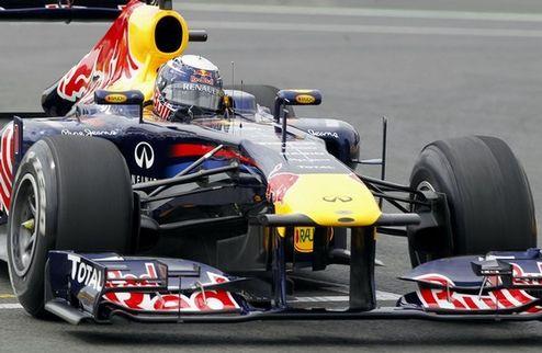 Гран-при Европы. Феттель лидирует в третьей тренировке