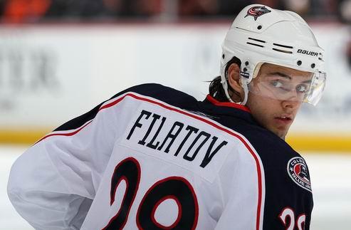 НХЛ. Коламбус: Филатов обменян в Оттаву
