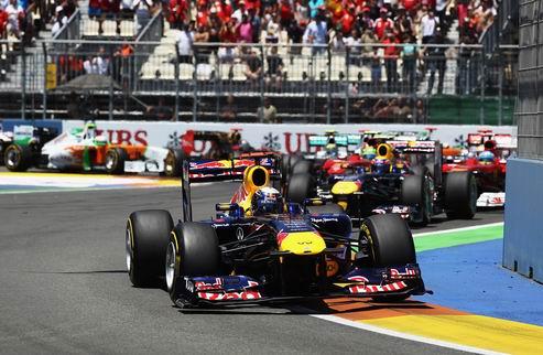 Гран-при Европы. Легкая победа Феттеля