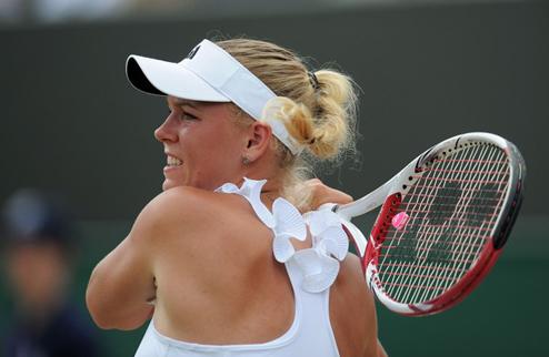 Возняцки удивляет теннисный мир и соперницу