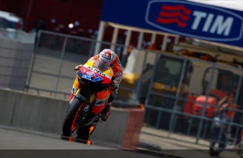 MotoGP. Гран-при Италии. Квалификация. Пятый поул Стоунера