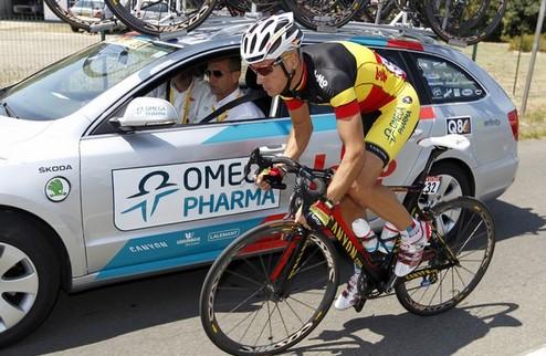 Жильбер — первый лидер Тур де Франс, Контадор проигрывает время