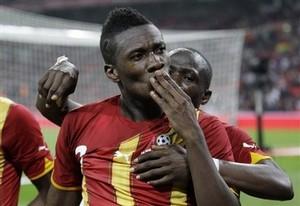 Гьян — спортсмен года в Гане