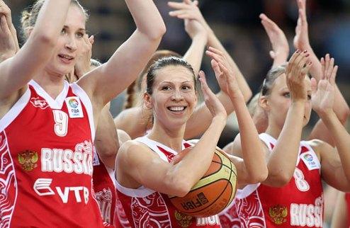 Россия — чемпион женского Евробаскета
