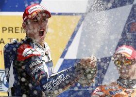 """MotoGP. Лоренсо: """"Это была особенная победа"""""""