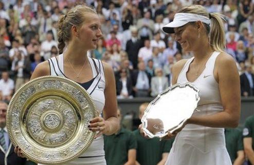 Рейтинг WTA. Шарапова и Квитова поднялись на одну строчку