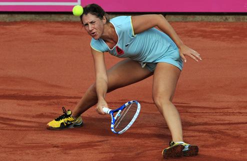 Савчук вышла во второй раунд турнира WTA POLI-FARBE Budapest Grand Prix