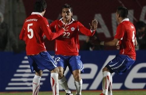 Копа Америка. Чили возглавляет группу С + ВИДЕО