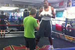 Байнум решил попробовать себя в боксе
