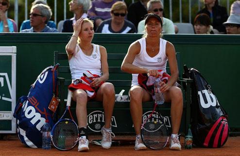 Сестры Бондаренко не смогли удержать победу в Будапеште