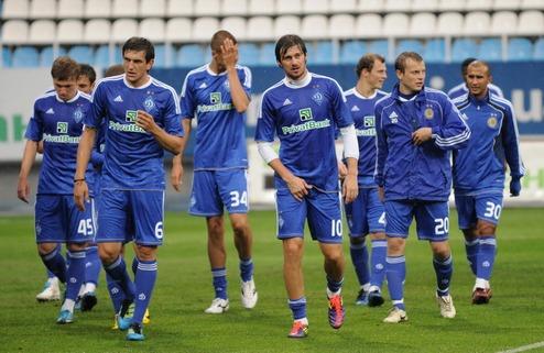 Динамо огласило заявку на чемпионат