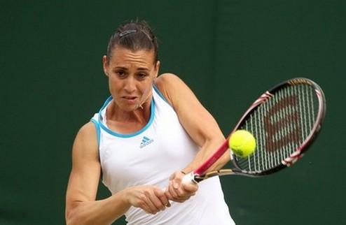 Баштад (WTA). Возняцки покидает турнир