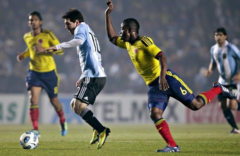 Аргентина снова не выигрывает + ВИДЕО