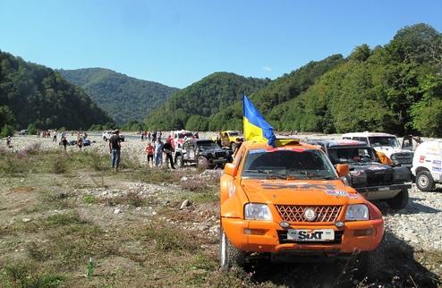 """Команда SIXT UKRAINE отправилась покорять ралли """"Шелковый путь 2011"""""""