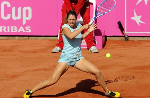 Савчук пробилась в парный полуфинал в Будапеште
