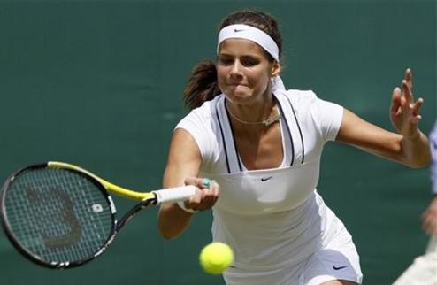 Бад Гаштайн (WTA). Первый номер посева покидает турнир
