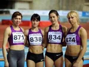 ИААФ ратифицировала мировой рекорд россиянок в эстафете 4х800 м