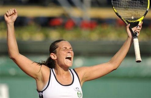 Палермо (WTA). Эррани и Винчи пробились во второй круг