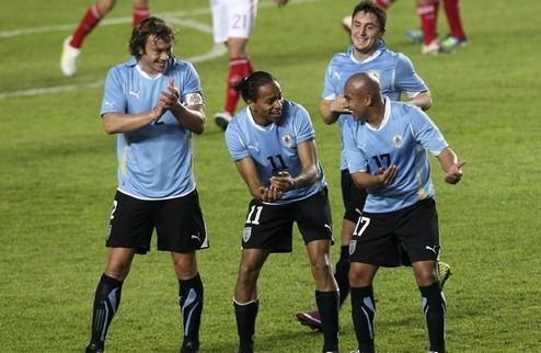 Уругвай схлестнется с Аргентиной + ВИДЕО