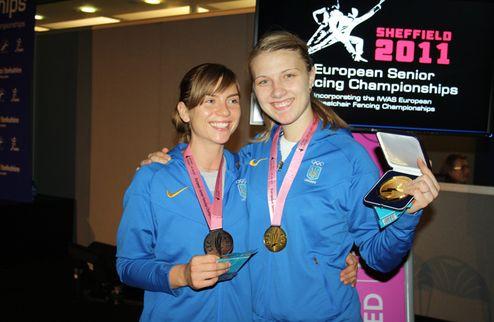Фехтование. Чемпионат Европы: золото и бронза саблисток