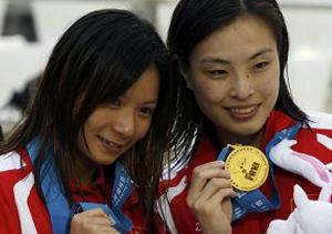 Первое золото Шанхая выигрывают хозяева