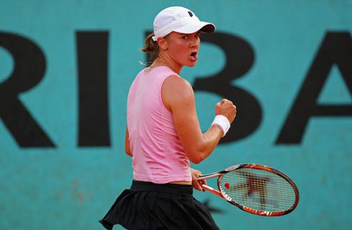 Корытцева вышла во второй раунд в Баку