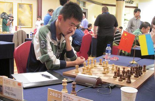 Шахматы. Командный ЧМ-2011. Украина уступает Китаю