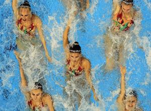 Синхронное плавание. Россия продолжает собирать медали