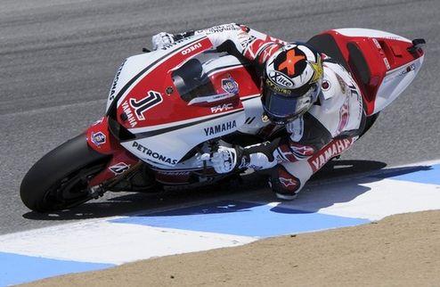 Moto-GP. Гран-при США. Лоренсо выигрывает практику № 2