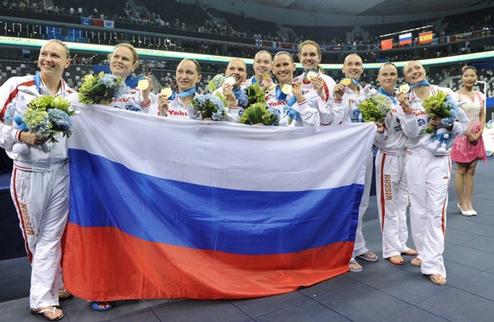Синхронное плавание. Россиянки устанавливают рекорд