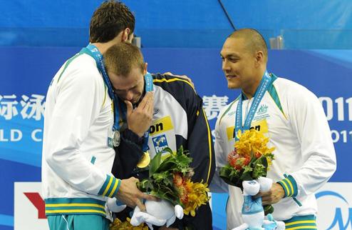 Плавание. Победа и слезы Сьело Фильо