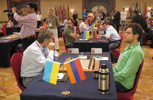 Шахматы. Командный ЧМ-2011. Украина берет бронзу