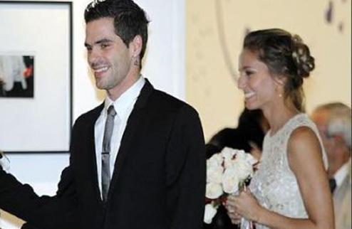 Дулко вышла замуж за игрока Реала. ФОТО