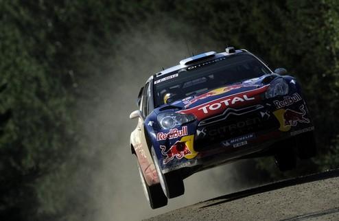 WRC. Ралли Финляндии. Ситроен на вершине после 12 СУ