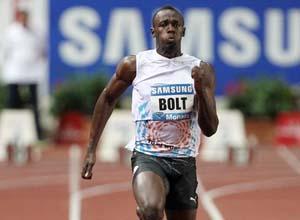 Легкая атлетика. Невероятный забег от Болта