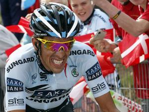"""Велоспорт. Контадор уходит на """"каникулы"""""""