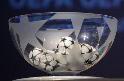 Лига чемпионов: определились пары раунда плей-офф