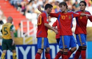 ЧМ-2011 (U-20). Испания забила пять мячей за полчаса, Хорватия проигрывает Гватемале