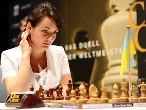 Шахматы. Украинка — вторая на турнире Гран-при ФИДЕ
