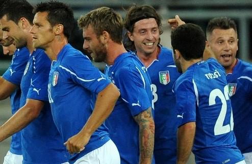 Италия: первая победа над Испанией за 17 лет + ВИДЕО
