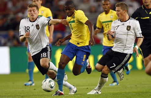 Германия обыгрывает Бразилию + ВИДЕО