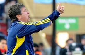 Игроки сборной Колумбии против отставки Гомеса