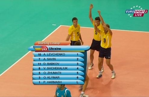 Универсиада. Украинские волейболисты тоже уступают россиянам