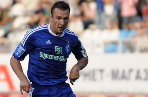 Шевченко пропустит ближайшие матчи