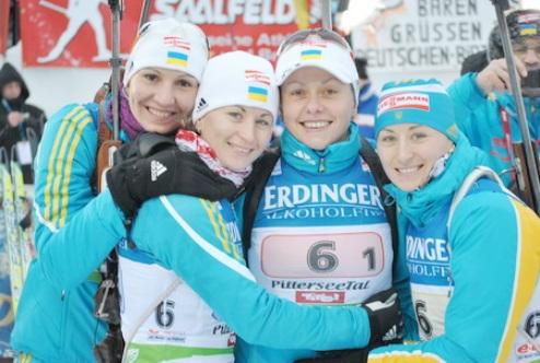 Пятеро биатлонисток променяли Россию на Украину