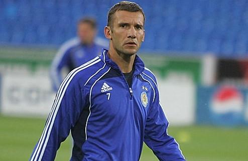 Шевченко пропустит не меньше месяца