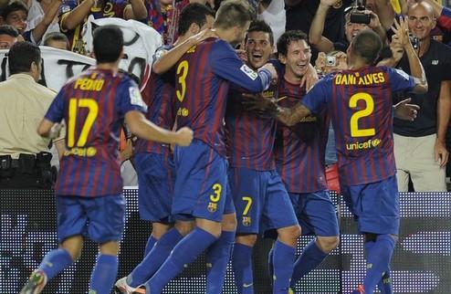Барса берет Суперкубок Испании + ВИДЕО