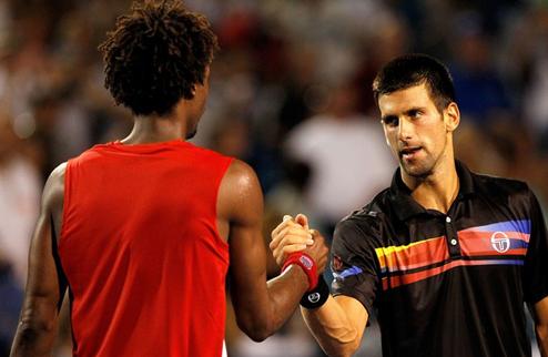 Цинциннати (АТР). Джокович и Мюррей в полуфинале, Надаль и Федерер вылетают